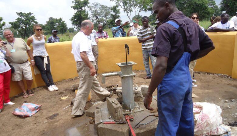 Segundo pozo de agua potable